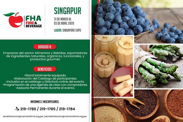 Ferias Internacionales para el Sector Alimentos & Bebidas