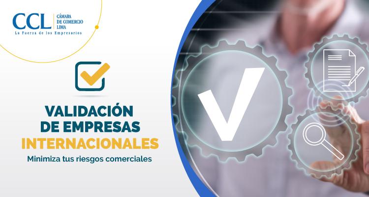 VALIDACIÓN DE EMPRESAS INTERNACIONALES