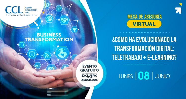 CÓMO HA EVOLUCIONADO LA TRANSFORMACIÓN DIGITAL: TELETRABAJO+E-LEARNING