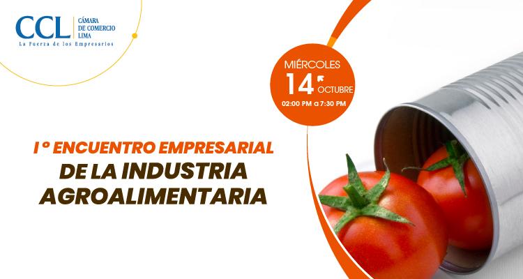 1° ENCUENTRO EMPRESARIAL DE LA INDUSTRIA AGROALIMENTARIA 2020