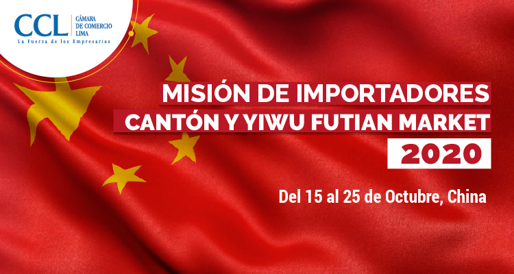 MISIÓN DE IMPORTADORES CANTÓN Y YIWÚ FUTIAN MARKET 2020