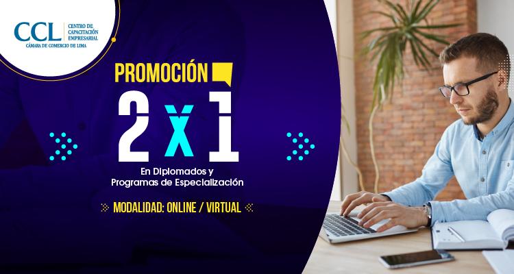 Promoción 2 x 1 en Diplomados y Programas