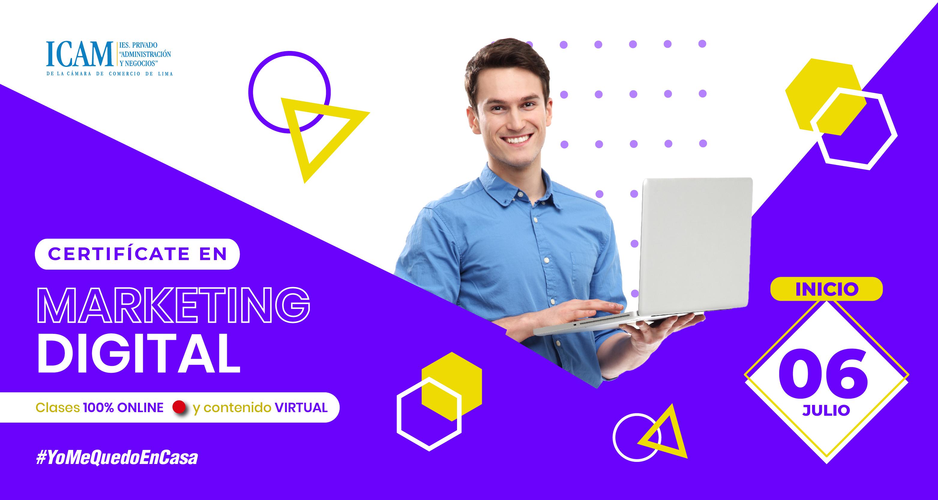 Certifícate en Marketing Digital