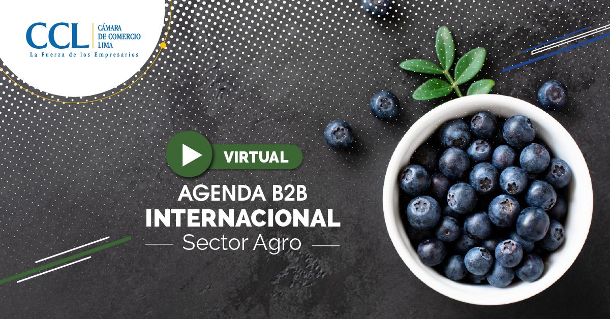 AGENDA B2B INTERNACIONAL SECTOR AGRO