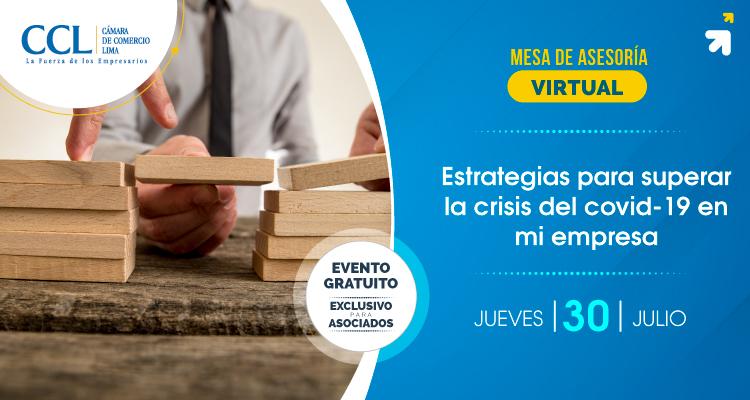 ESTRATEGIAS PARA SUPERAR LA CRISIS DEL COVID-19 EN MI EMPRESA