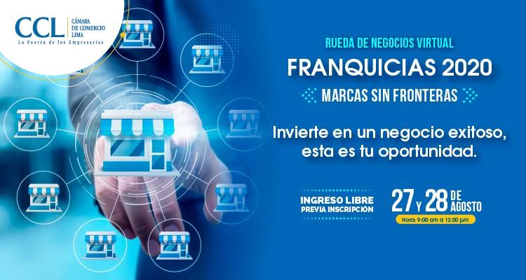 RUEDA DE NEGOCIOS VIRTUAL DE FRANQUICIAS 2020
