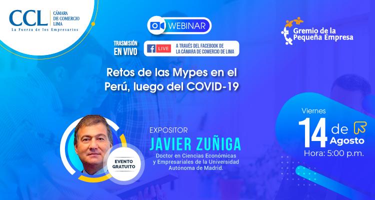 """Webinar COPE: """"Los Retos de las Mypes, luego del COVID-19"""""""