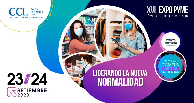 """XVI EXPO PYME : """"Pymes Sin Fronteras, Liderando la Nueva Normalidad"""""""
