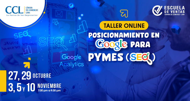 Taller Online de Posicionamiento en Google para Pymes (SEO)