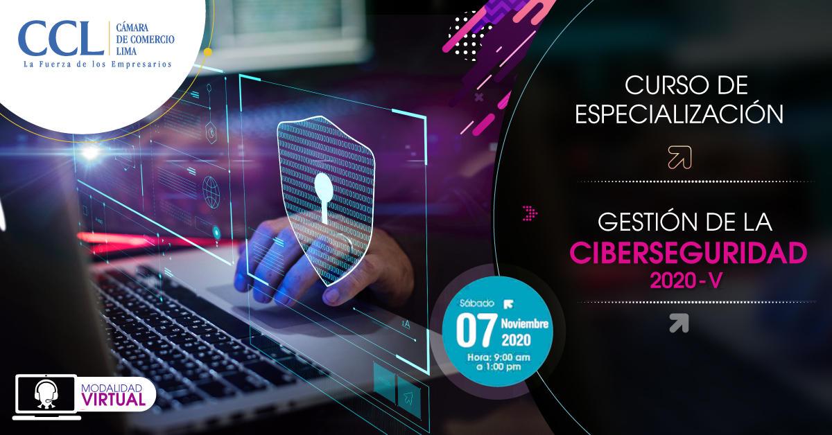 Curso de Especialización en GESTIÓN DE LA CIBERSEGURIDAD