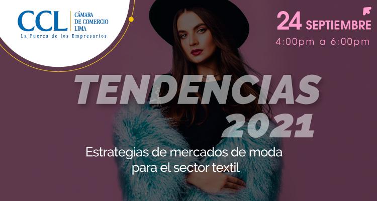 TENDENCIAS 2021: ESTRATEGIAS DE MERCADOS DE MODA PARA EL SECTOR TEXTIL