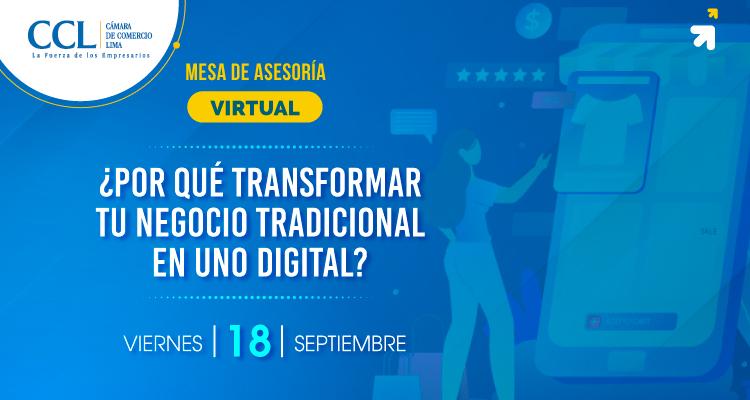 ¿Por qué transformar tu negocio tradicional en uno digital?