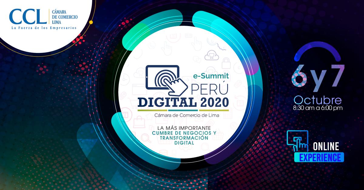 E-SUMMIT PERU DIGITAL 2020 / ENTRADAS
