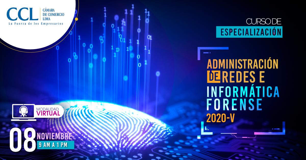 CURSO VIRTUAL EN ADMINISTRACIÓN DE REDES E INFORMÁTICA FORENSE 2020-V