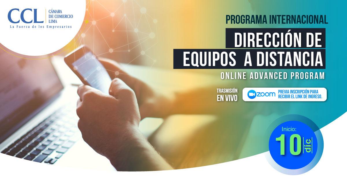 PROGRAMA INTERNACIONAL DE DIRECCIÓN DE EQUIPOS A DISTANCIA