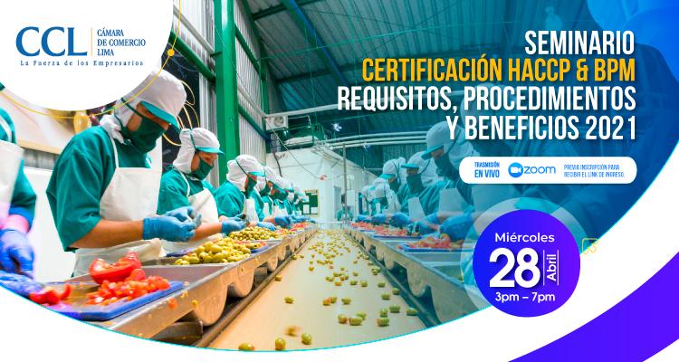 SEMINARIO HACCP y BPM 2021