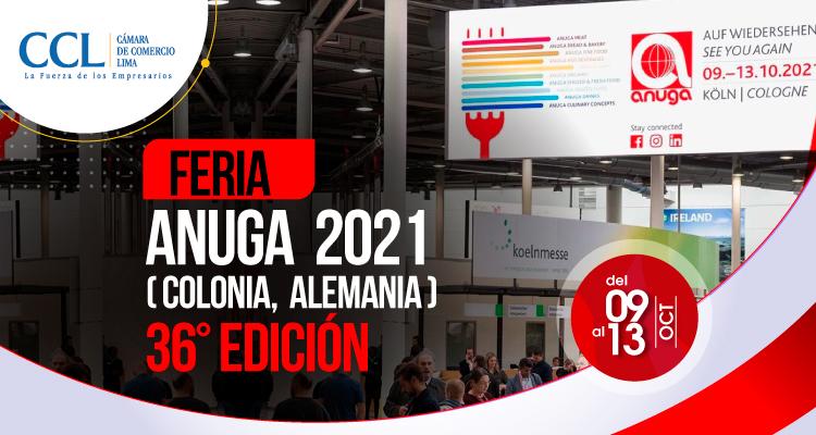 36° Edición de la Feria Anuga 2021