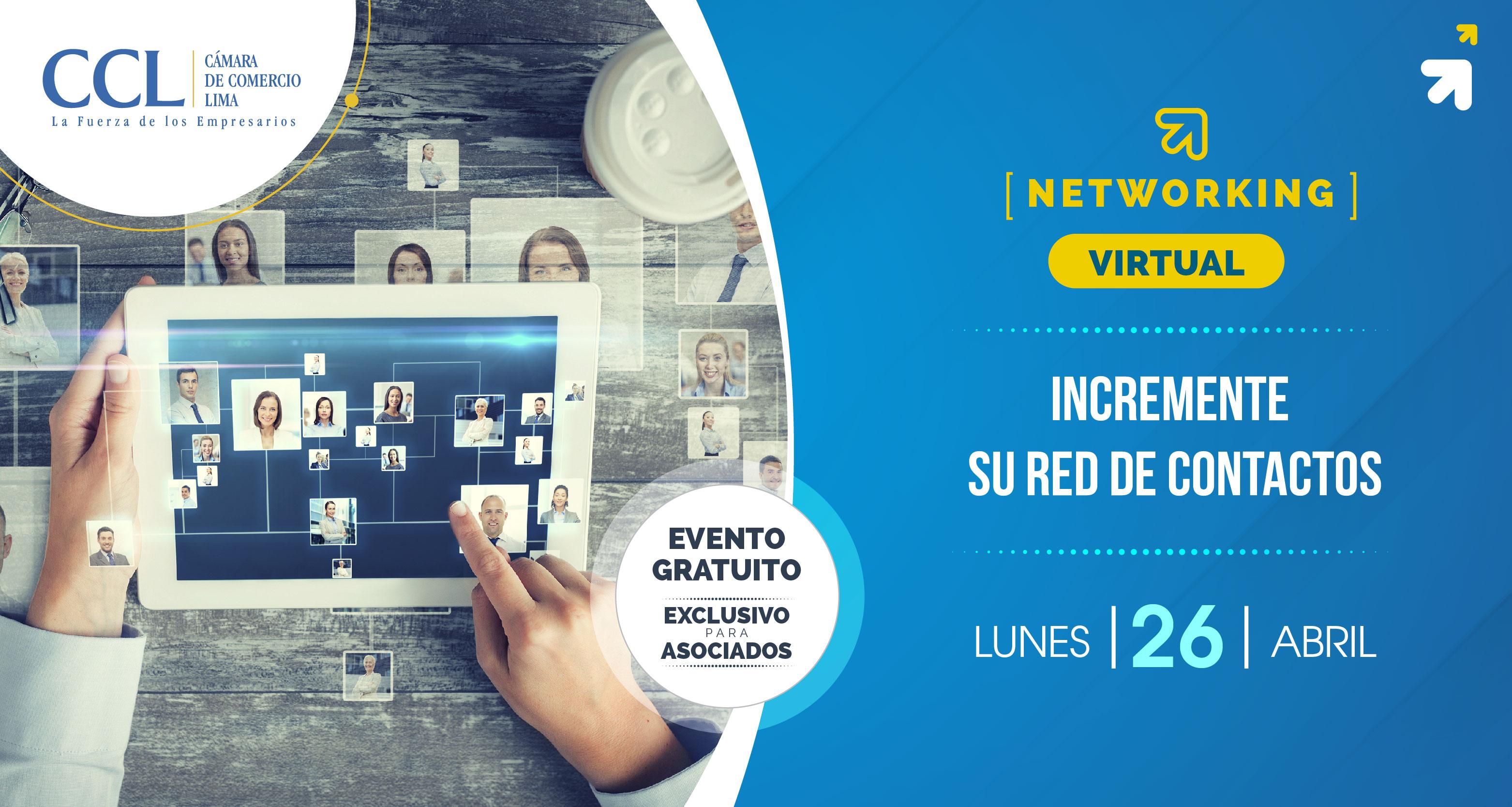 Networking Virtual para asociados de CCL