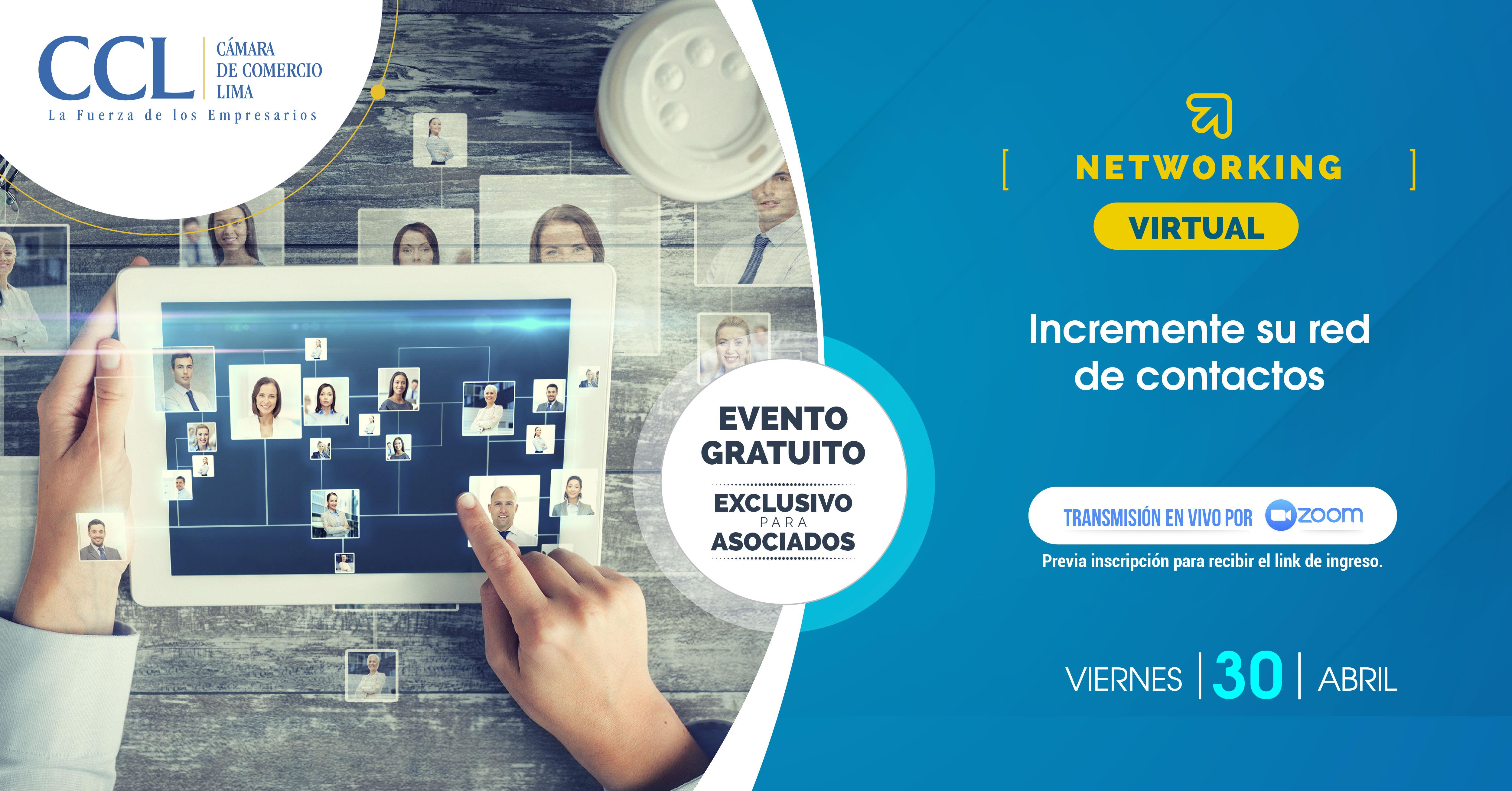 NETWORKING VIRTUAL 30.04.21