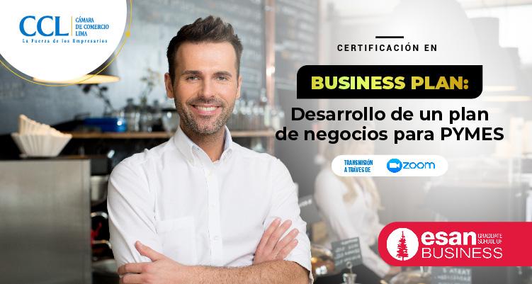 CERTIFICACION EN BUSINESS PLAN: DESARROLLO DE UN PLAN DE NEGOCIOS PARA PYMES