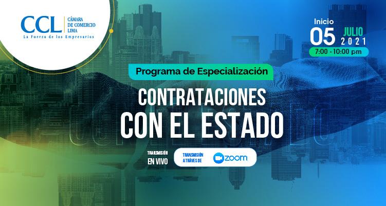 PROGRAMA DE ESPECIALIZACION EN CONTRATACIONES CON EL ESTADO 2021-3