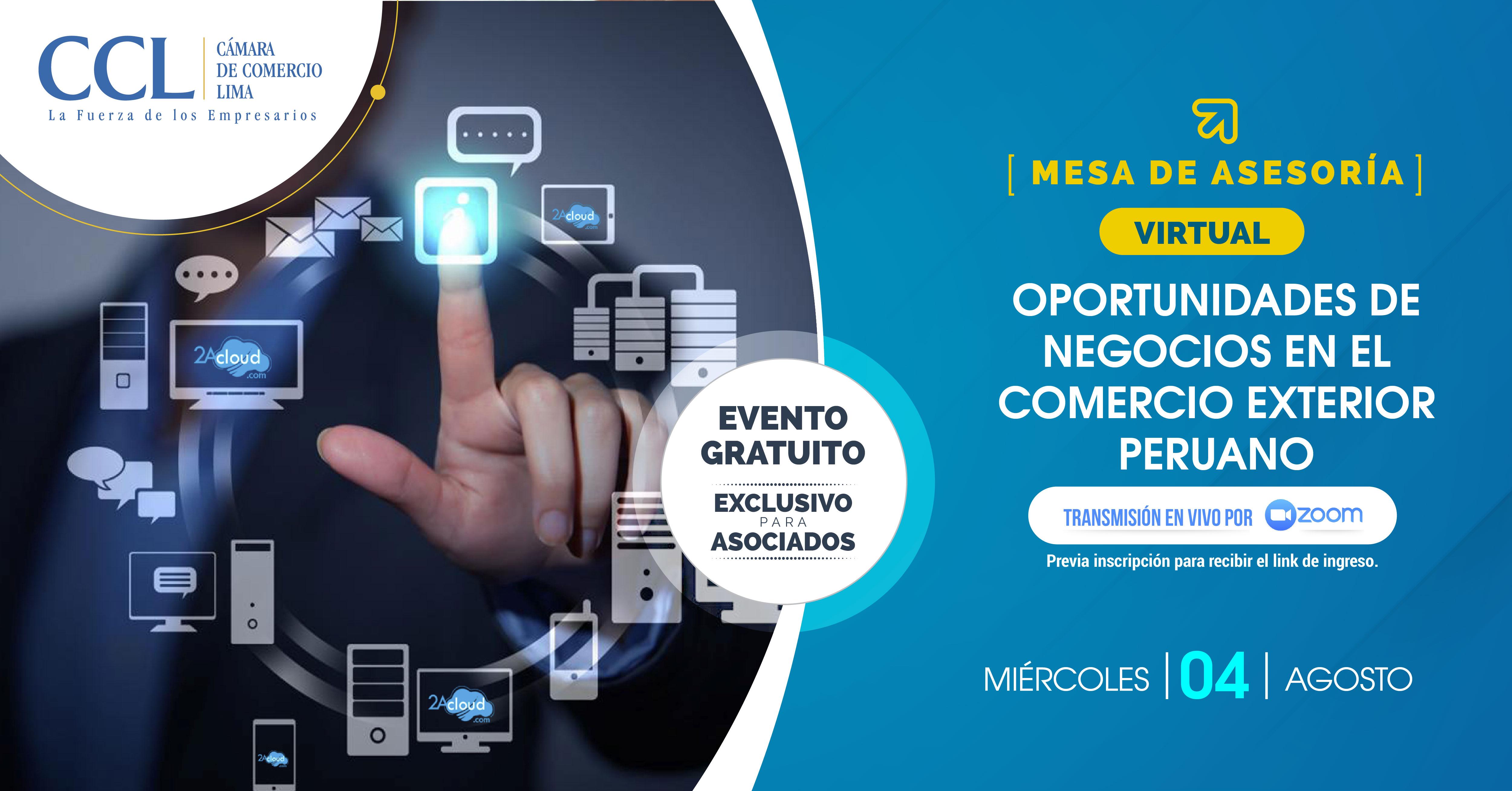 Oportunidades de Negocios en el Comercio Exterior Peruano 04.08.2021