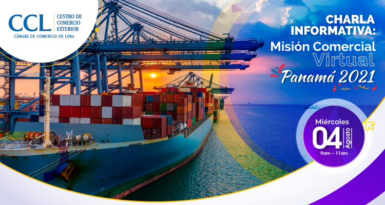 Charla informativa: Misión comercial Virtual Panamá 2021