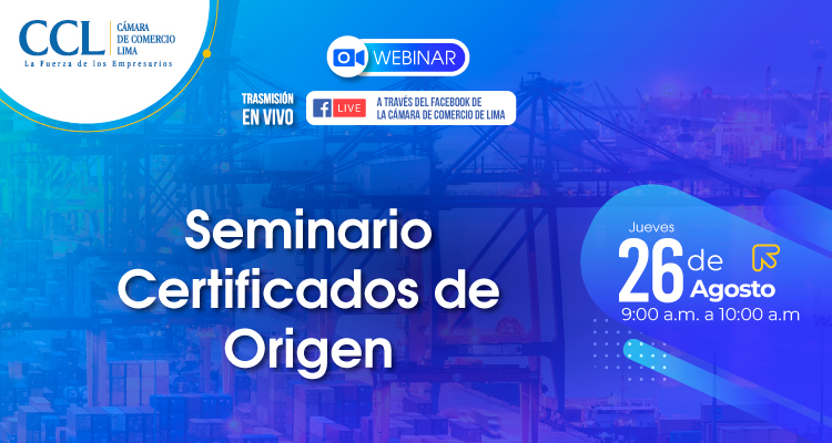 SEMINARIO CERTIFICADOS DE ORIGEN
