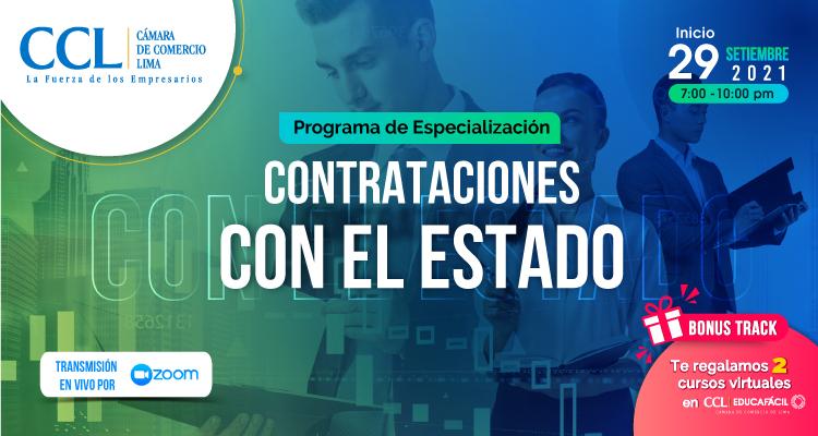 PROGRAMA DE ESPECIALIZACION EN CONTRATACIONES CON EL ESTADO 2021