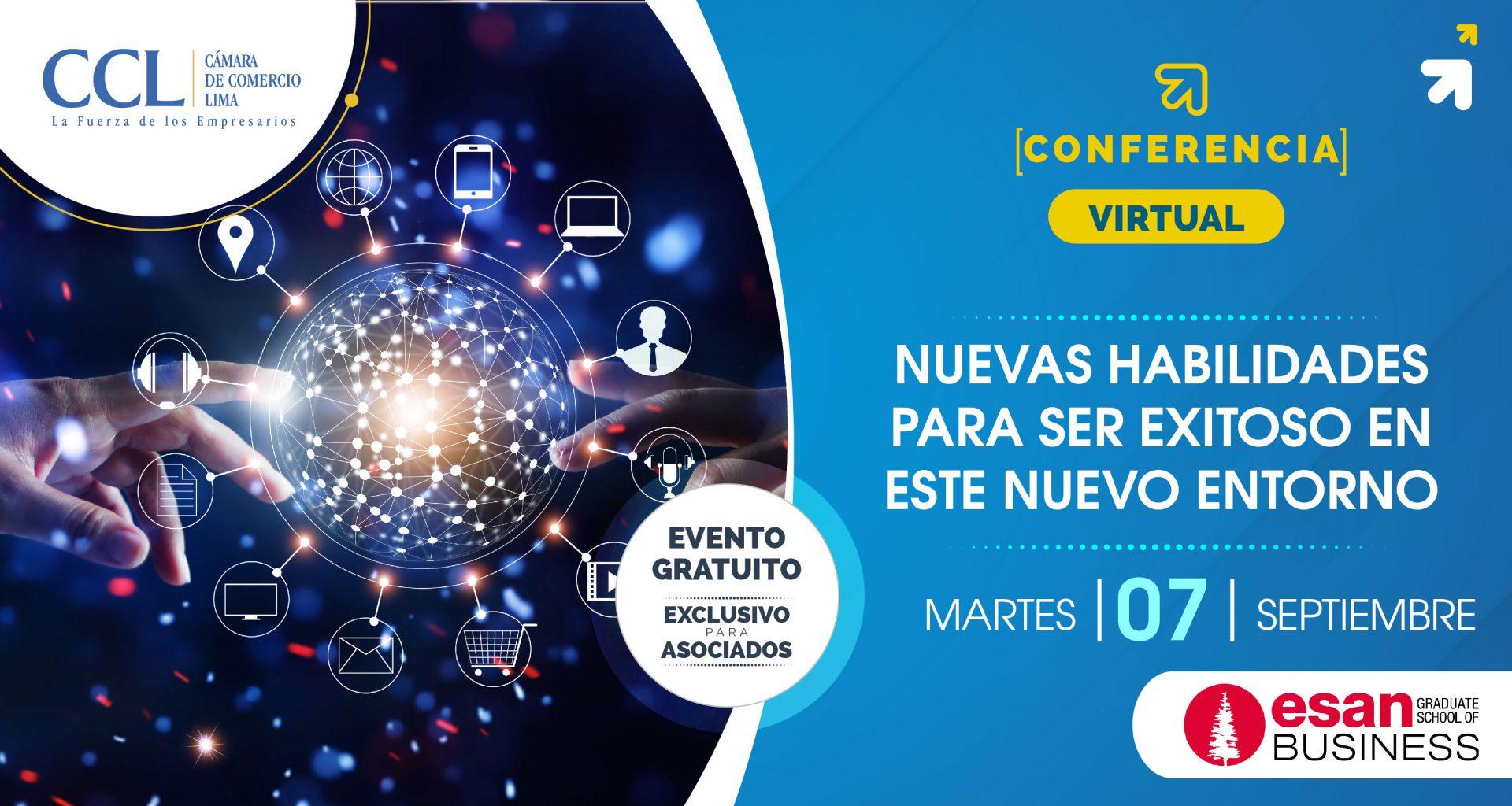 Conferencia ESAN Virtual: Nuevas habilidades para ser exitoso en este nuevo entorno