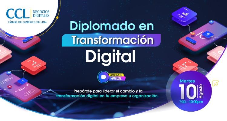 DIPLOMADO EN TRANSFORMACIÓN DIGITAL 2021-I