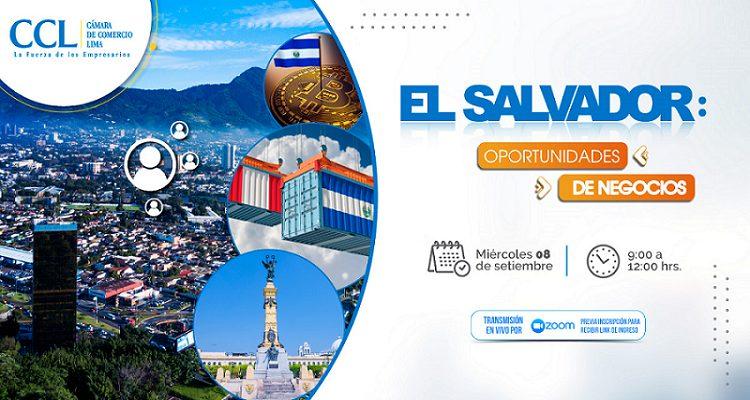 """Seminario Virtual: El Salvador """" Oportunidades de Negocio en la Región Centroamericana"""""""