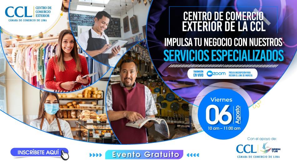 CENTRO DE COMERCIO EXTERIOR DE LA CCL – Impulsa tu negocio con nuestros servicios especializados.